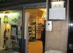rapina farmacia viale milano 5