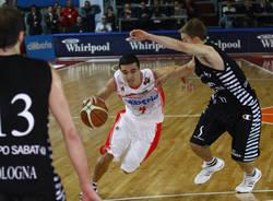basket cimberio virtus bologna novembre 2009 passera