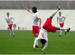 calcio varese foligno novembre 2009 willy osuji