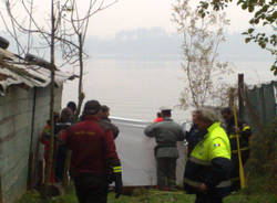 elicottero incidente lago di varese