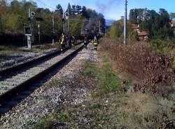 incendio stazione besozzo