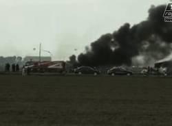 incidente aereo pisa