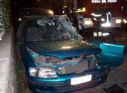 incidente castronno 4-11-2009