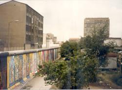 Muro di Berlino, germania 1986