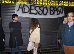 protesta varese contro processo breve con saviano