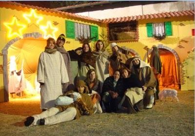 Concorso Natale, Gianluca Carullo, presepe pubblico