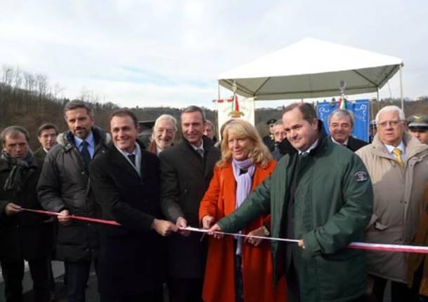 inaugurazione diga Olona Gurone