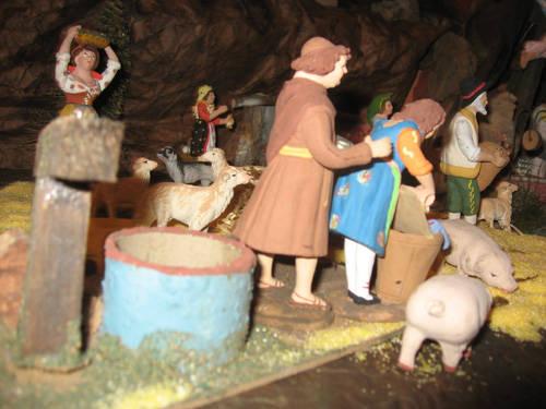 Le tradizioni nel presepe