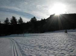 pista sci di fondo brinzio dicembre 2009