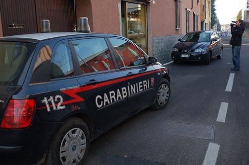 rapina cardano al campo carabinieri
