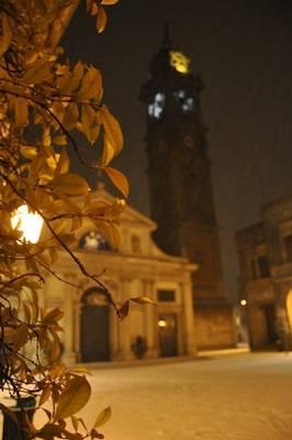 San Vittore con la neve