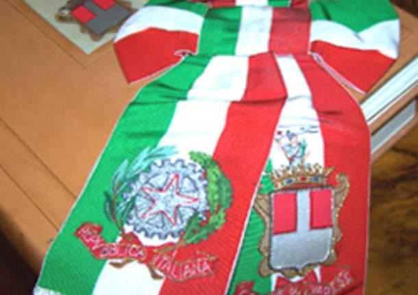 sindaco fascia tricolore prima