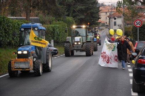 trattori marcia parco pineta legambiente tradate