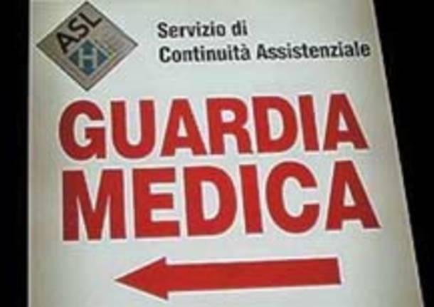 cartello guardia medica continuita assistenziale