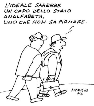 La vignetta di Morgione - 21/01/2010