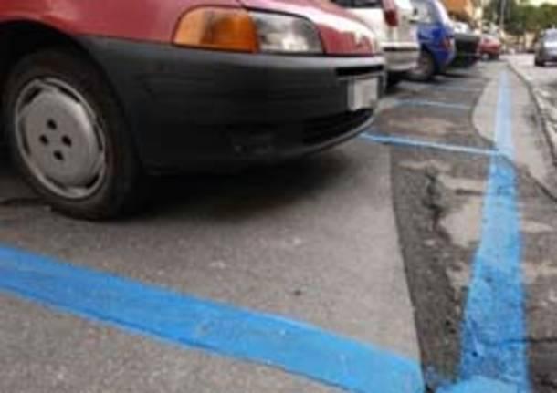 parcheggi strisce blu pagamento
