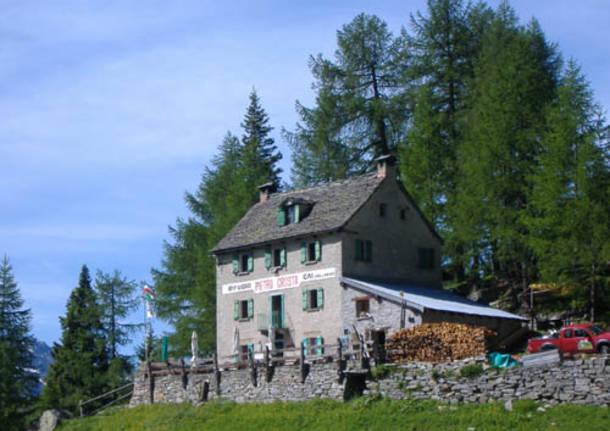 rifugio Cai Alpe Solcio