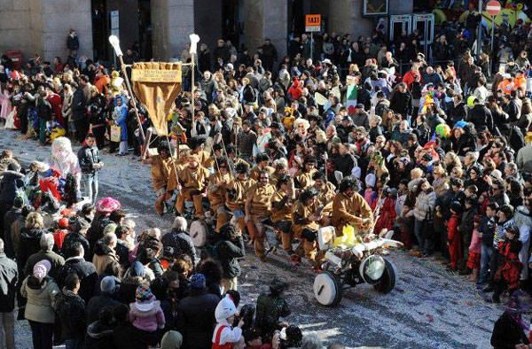 Il Ciclope protagonista del carnevale