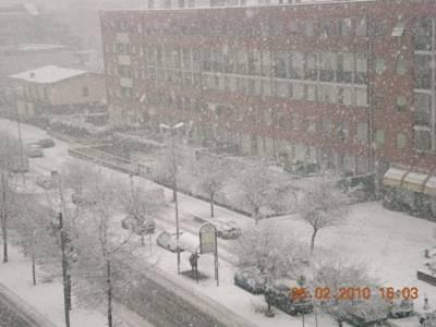 Neve a Busto Arsizio