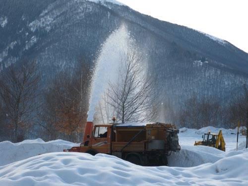Spruzzi di neve in Forcora