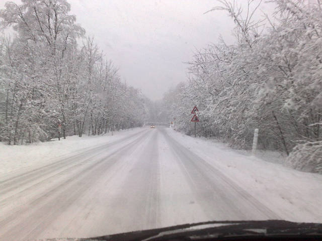 Valganna nevicata del 5 Febbraio