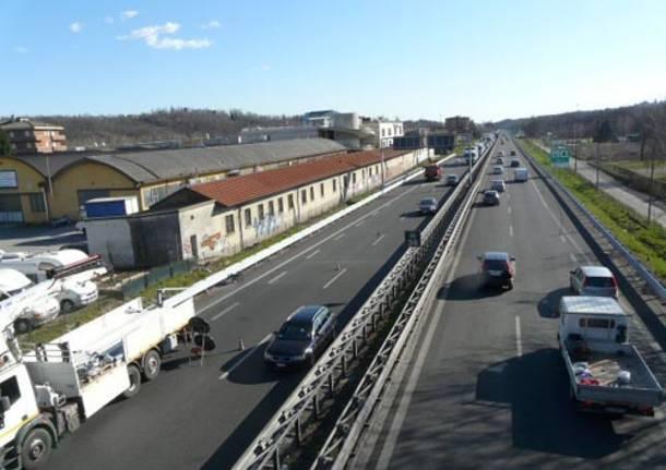 coda autostrada lavori A8
