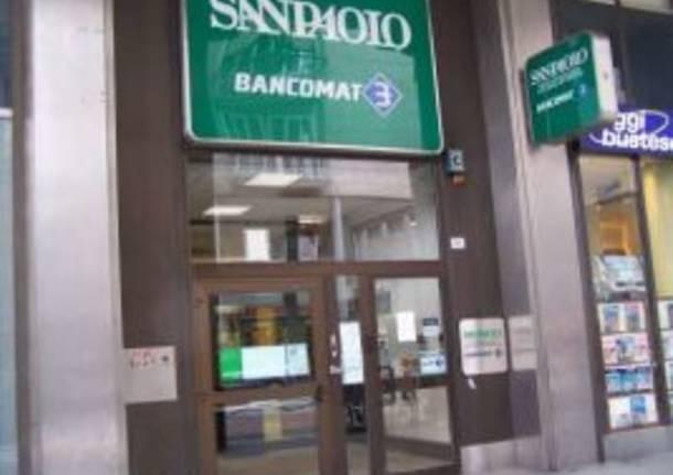 rapina via milano busto arsizio banca intesa san paolo 4-3-2010 seconda