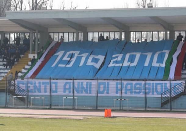 saronno 100 anni centenario calcio