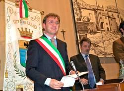 Andre Pellicini consiglio comunale Luino