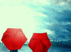 apertura tempo libero, pioggia, ombrello