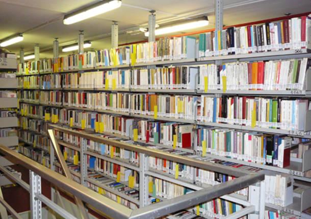 Biblioteca civica di Varese magazzino via sacco