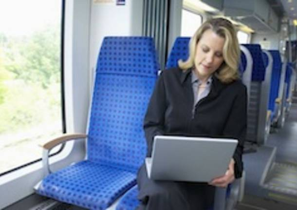 donne manager in treno