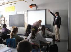 lavagna digitale scuola elementare sant'Alessandro Castronno