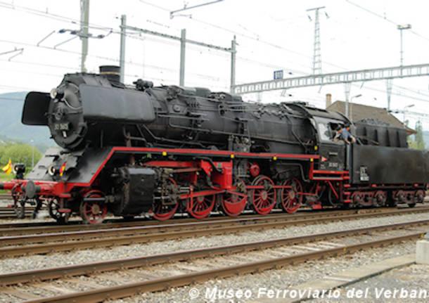 locomotiva a vapore Verbano Express