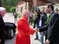 Cardinale Dionigi Tettamanzi al Centro Gulliver di Bregazzana