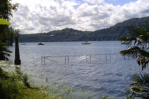 livello lago ranco acqua alta