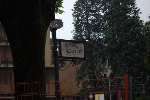 piazza castegnate piazza paolo VI castellanza