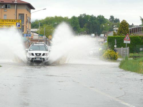 pioggia allagamenti strada morazzone gazzada