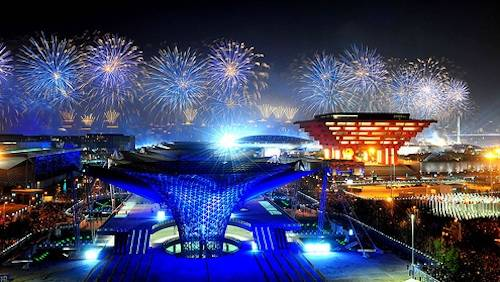 shanghai expo opening