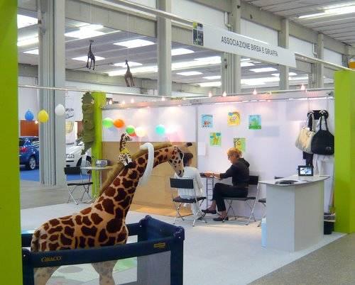 Stand Famiglia Associazione Birba la Giraffa 102