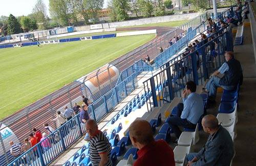 tifosi pro patria allenamento maggio 2010 play out