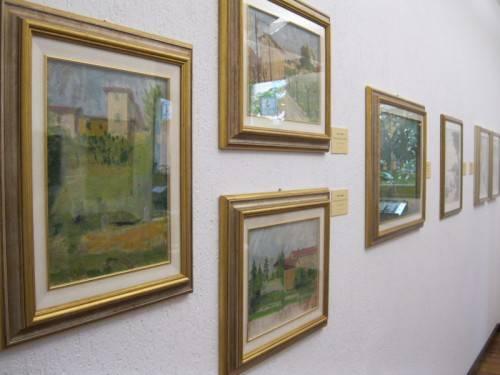 vittorio sgarbi galleria ghiggini maggio 2010 mostra landoni