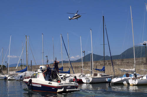 carabinieri luino barca controlli lago maggiore