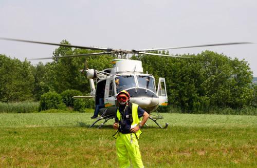elicottero abbracciamo il lago 2010