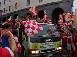 festa promozione serie b varese calcio 13 giugno 2010