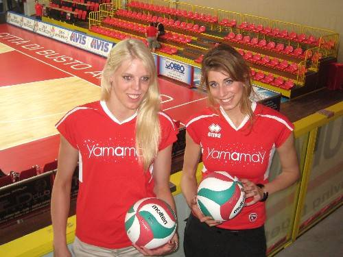Flortje Meijners Christina Bauer pallavolo yamamay