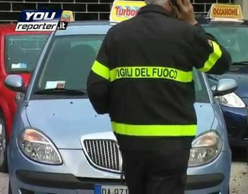 incendio auto vergiate youreporter