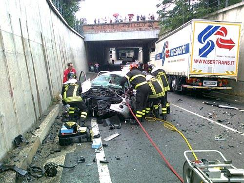 incidente castellanza rescaldina