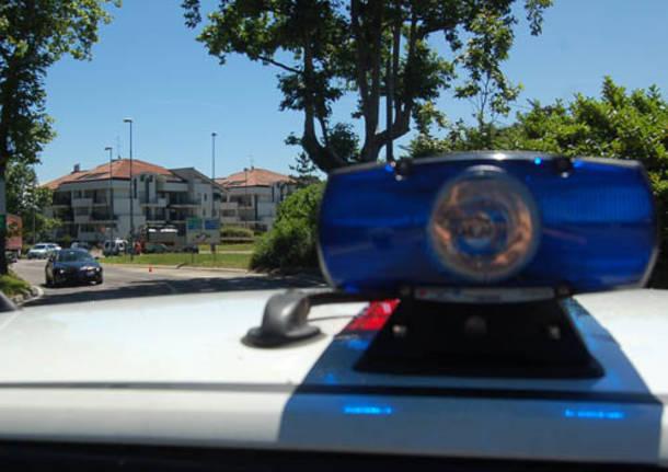 perdita gasolio via don minzoni castellanza polizia locale