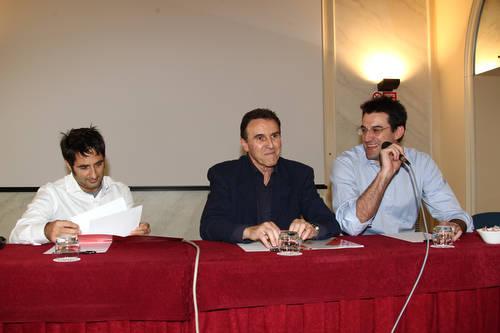 presentazione allenatore carlo recalcati hotel palace pallacanestro varese castiglioni vescovi giugno 2010